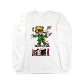 JUST SING IT Long sleeve T-shirts
