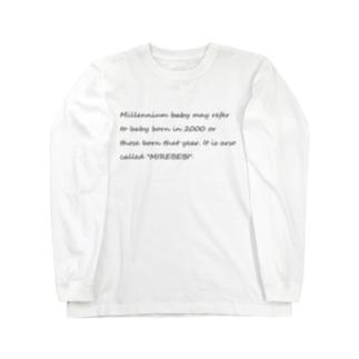 Millennium babyのMillennium babyTシャツ Long sleeve T-shirts