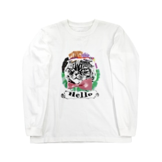 Helloキャット Long sleeve T-shirts