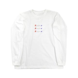 ボンジュール・ボンジュール・ボンジュール Long sleeve T-shirts