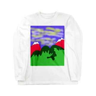 JUJNSEN SETA(瀬田 純仙)令和の夏山1 Long sleeve T-shirts