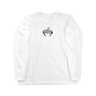 カプチーロゴ Long sleeve T-shirts