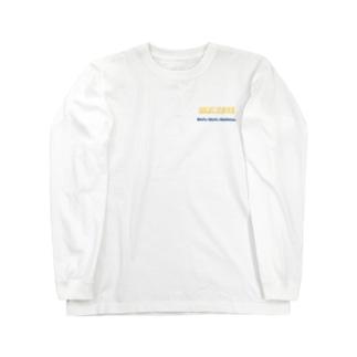 もふもふOSAMU風(両面) Long sleeve T-shirts