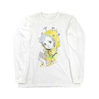 レインコート君 Long sleeve T-shirts