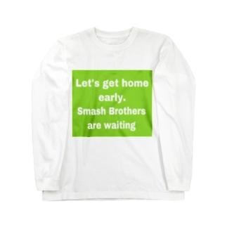スマブラ Long sleeve T-shirts
