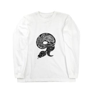 ボールパイソン Long sleeve T-shirts