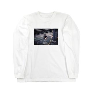 チーズハットグハト Long sleeve T-shirts