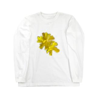 タンポポ Long sleeve T-shirts