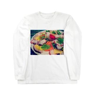 手作りカルパッチョ Long sleeve T-shirts