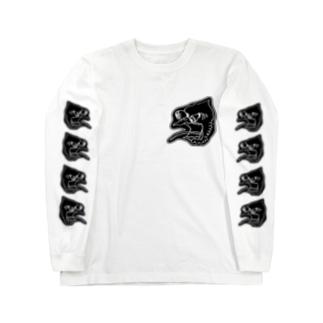 the gooney goose BLACK Long sleeve T-shirts