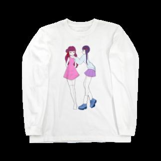あいあいの乙女 Long sleeve T-shirts