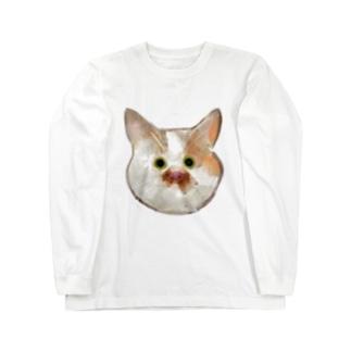 ねこ Long sleeve T-shirts