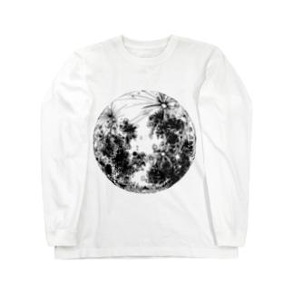 THE MOON Long sleeve T-shirts