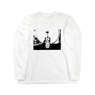 DRUMS!!#2 Long sleeve T-shirts