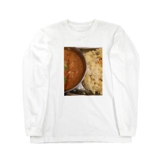 カレー 難波周辺 Long sleeve T-shirts