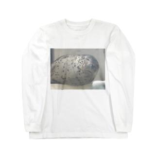 アザラシさんの睡眠 Long sleeve T-shirts