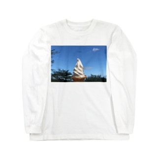ice cream Long sleeve T-shirts