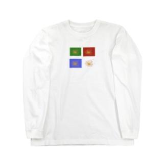 蠢きの四面楚歌 Long sleeve T-shirts