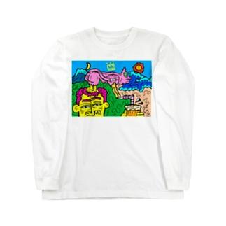 うみ! Long sleeve T-shirts