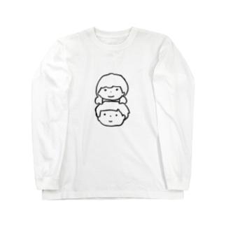 つよき女の子とやさしい男の子 Long sleeve T-shirts