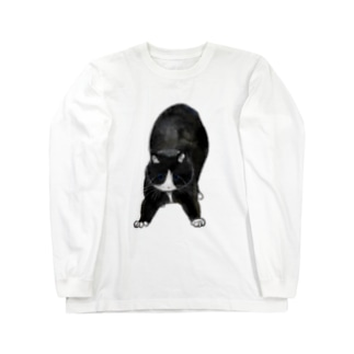 ねこくろ Long sleeve T-shirts