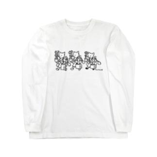 夏休み前の小学生 Long sleeve T-shirts