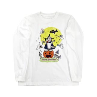 ハッピー♫ ハロウィン Long sleeve T-shirts