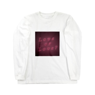 Love or Love? Long sleeve T-shirts