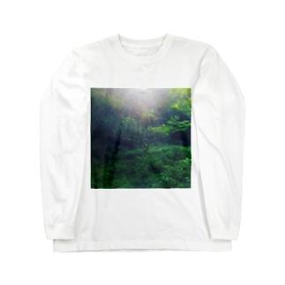 森林シャツ Long sleeve T-shirts