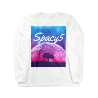 Spacy5 Official OnlineのSpacy5 イメージロゴ Long sleeve T-shirts