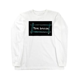 テックブレ Long sleeve T-shirts
