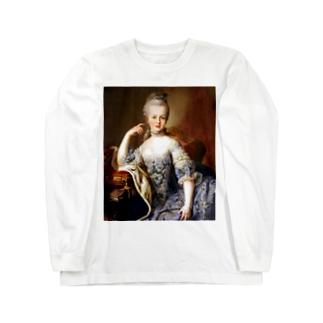王妃 マリー・アントワネット Long sleeve T-shirts