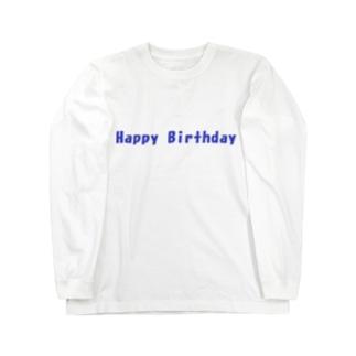 Happy Birthday グッズ Long sleeve T-shirts