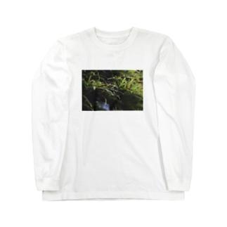 草の匂い Long sleeve T-shirts