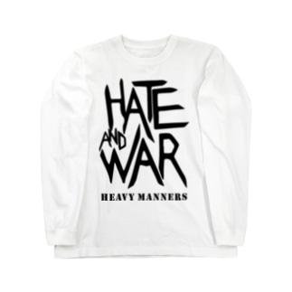 hate&'war Long sleeve T-shirts