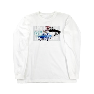 Life is SHiT Long sleeve T-shirts