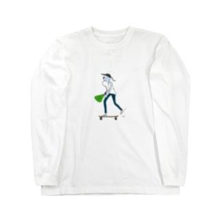 コンプラくん Long sleeve T-shirts