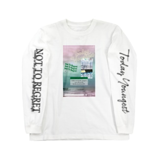 TODAY YOUNGEST_SNS Long sleeve T-shirts