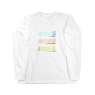 ふせん Long sleeve T-shirts