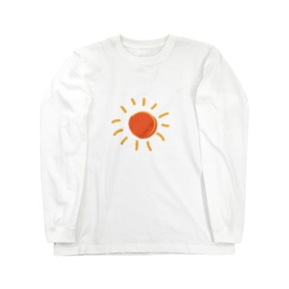 真夏の太陽 Long sleeve T-shirts