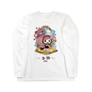 『赤ずきんちゃん』 ロングTシャツ オリジナルデザイロンT Long sleeve T-shirts