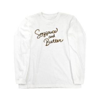 Soy sauce and Butter a.k.a バター醤油 Long sleeve T-shirts