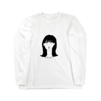 真顔 Long sleeve T-shirts