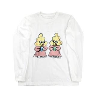 ペロちゃんズ  Long sleeve T-shirts