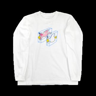 NIPPASHI SHOP™のハンブンダック Long sleeve T-shirts