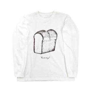 Yummy! パン・ド・ミ Long sleeve T-shirts