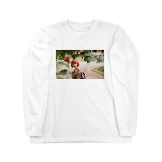 顔面 Long sleeve T-shirts