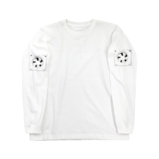 Ventilation Fan Long sleeve T-shirts