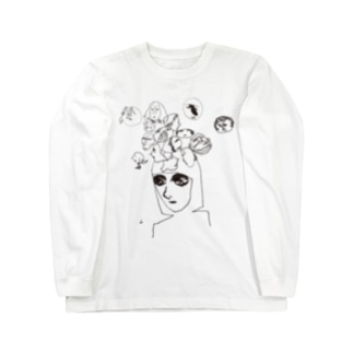 fm_08b_飽きっぽい Long sleeve T-shirts