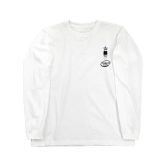 真空管12AX7黒 Long sleeve T-shirts